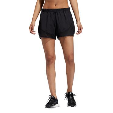 Adidas Womens Marathon 20 Light Speed Shorts - BLACK