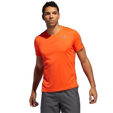 Adidas Mens Own The Run T-Shirt - Orange