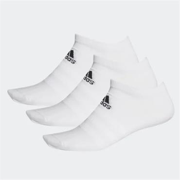Adidas Light Low Socks 3 Pack - White