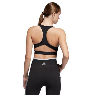 Adidas Womens Don't Rest Badge of Sport Bra - BLACK