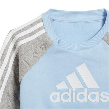 Adidas Infant Warm Jogger Set - Blue