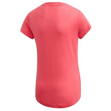 Adidas Girls Must Have Badge of Sport T-Shirt - Pink