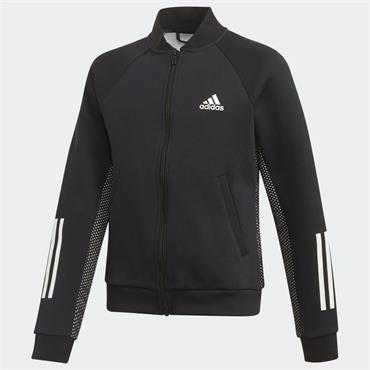 Adidas Girls Sports ID Sweatshirt - BLACK