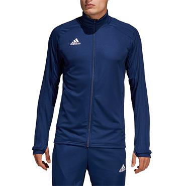 Adidas Mens Con18 Training Jacket - Blue