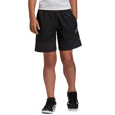 Adidas Boys Training Woven Shorts - BLACK