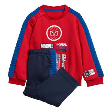 Adidas Kids Marvel Spider-Man Jogger Set - Red