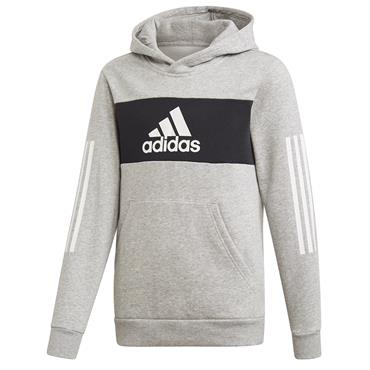 Adidas Boys Sports ID Hoody - Grey
