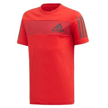 Adidas Boys Sport ID T-Shirt - Red