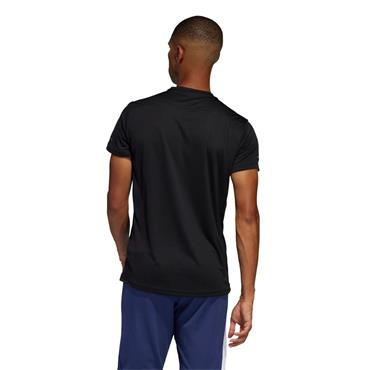 ADIDAS MENS OWN THE RUN T-SHIRT - BLACK