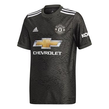 Adidas Kids Manchester United 2020/21 Away Jersey - BLACK