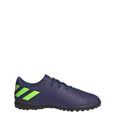 Adidas Kids Messi 19.4 Astro Boots - Blue