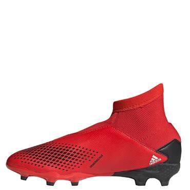 Adidas Kids Predator 20.3 LL FG Football Boots - Red