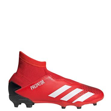 Adidas Kids Predator 20.3 LL FG Football Boots - Red