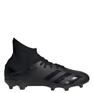 Adidas Kid's Predator 20.3 FG Football Boots - BLACK