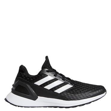 Adidas Kid's Rapida Run Trainers - BLACK