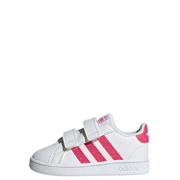 Adidas Infant Grand Court Trainers - WHITE