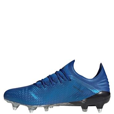 Adidas Mens X 19.1 SG Football Boots - Blue