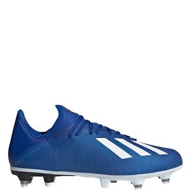 Adidas Mens X 19.3 SG Football Boots - BLUE