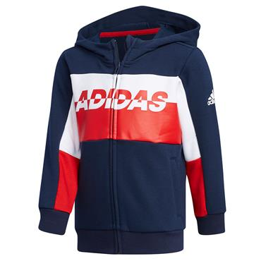 Adidas Boys Football Track Jacket - Navy