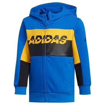 Adidas Boys Football Training Jacket - Blue