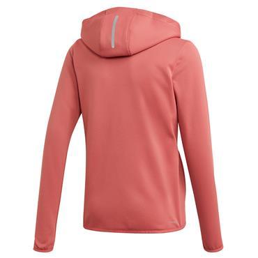 Adidas Girls Zipped Hoodie - Pink