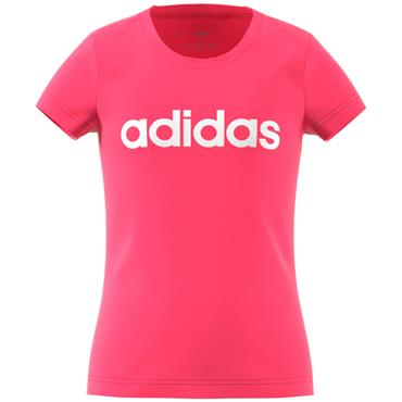 Adidas Essentials Linear T-Shirt - Pink
