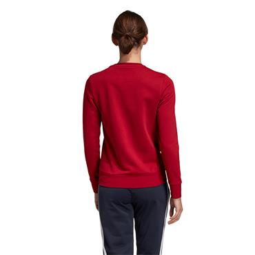 Adidas Essentials Linear Sweatshirt - Red