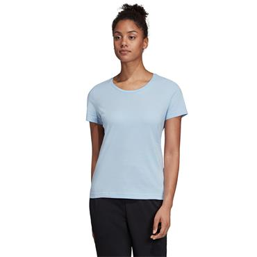 Adidas Womens Vertical T-Shirt - Blue