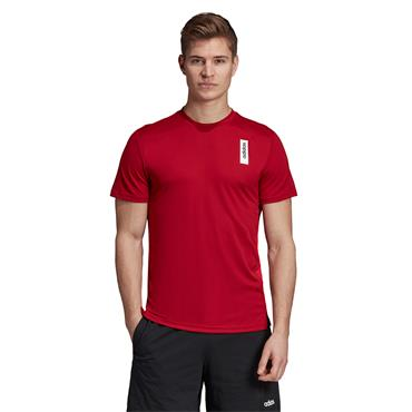 Adidas Mens Basics T-Shirt - Red
