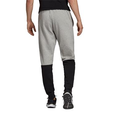 Adidas Mens Colourblock Pants - Grey