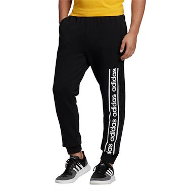 Adidas Mens Tracksuit Bottoms - BLACK