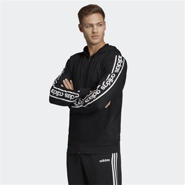 Adidas Mens Celebrate the 90s Branded Hoodie - BLACK