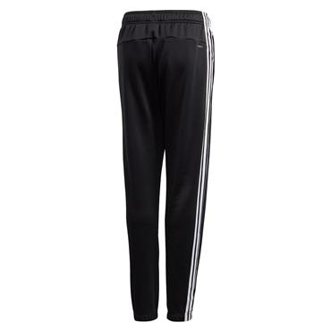 Adidas Boys 3 Stripe Training Pants - BLACK