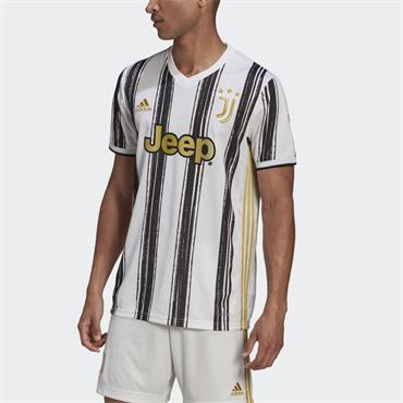 Adidas Mens Juventus Home Jersey - White/Black