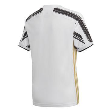 Adidas Kids Juventus 2020/21 Home Jersey - White