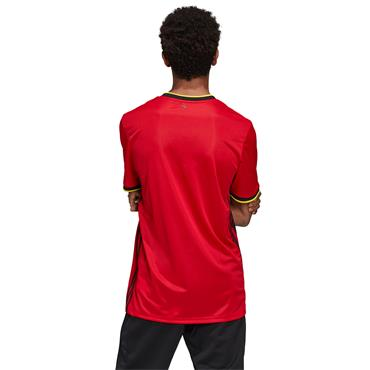 Adidas Adults Belgian Home Jersey 2020 - Red