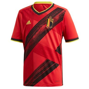 Adidas Kids Belgian Home Jersey 2020 - Red