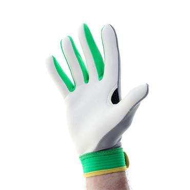 Michael Murphy Adults Errigal GAA Gloves - Grey/Green