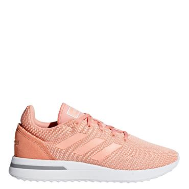 ADIDAS WOMENS RUN 70S - CORAL/WHITE