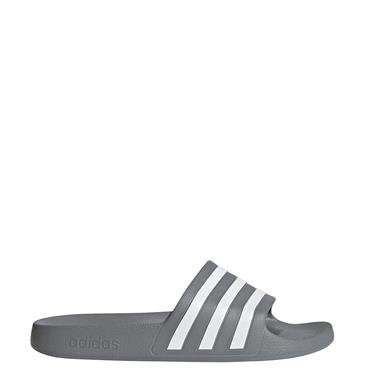 Adidas Adilette Aqua Sliders - Grey/White