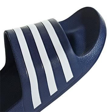 Adidas Adilette Aqua Sliders - Navy/White