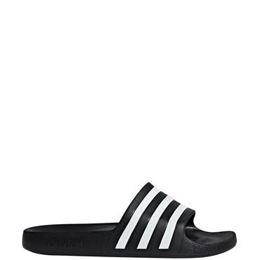 Adidas Adilette Aqua Sliders - Black/White
