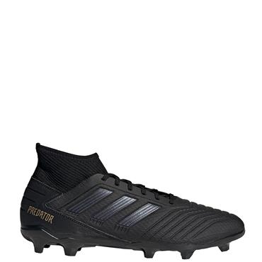 Adidas Mens Predator 19.3 FG Football Boots - BLACK