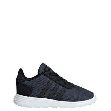 Adidas Boys Lite Racer Trainers - Grey/White