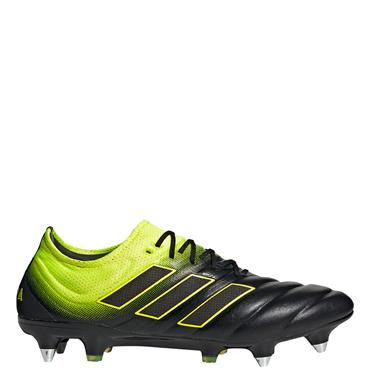Adidas Adults Copa 19.1 SG Football Boots - Black/Yellow