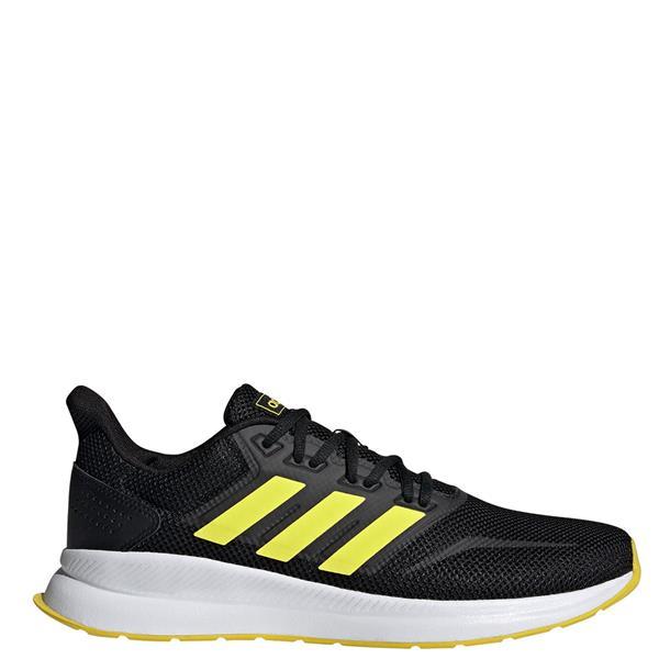 Adidas Mens Runfalcon Trainers - BLACK