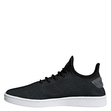 Adidas Mens Court Adapt Runners - Black/White