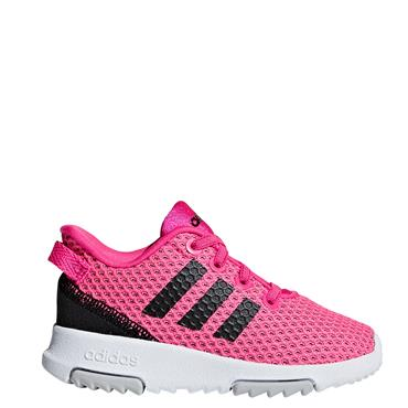 Adidas Toddler Racer Trainers - Pink/White