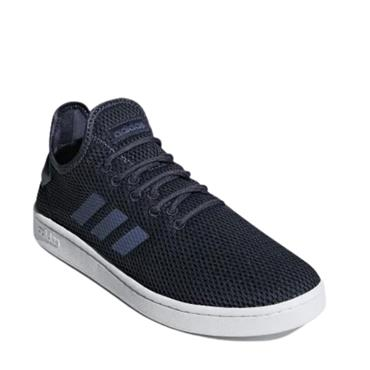 Adidas Mens Court Adapt Trainers - Navy/White