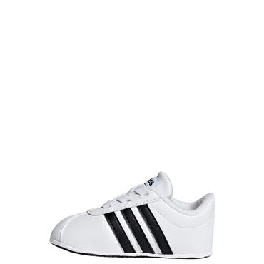Adidas Baby VL Court 2.0 Shoes - White/Black